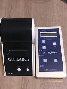 Welch Allyn Oae Hearing Screener 29400 With Label Printer And Cords
