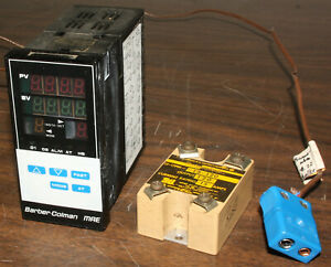 Barber Colman Digital Temperature Control Mae 8th Din 15a Switch Works Great