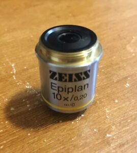 Zeiss Epiplan 10x 0 20 Excellent Microscope Objective 44 29 30