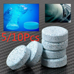 5 10x Auto Car Windshield Glass Wash Cleaning Concentrated Effervescent Tablet
