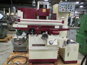 Chevalier Model Fsg 818ad 3 axis Hydraulic Surface Grinder 8 X 18