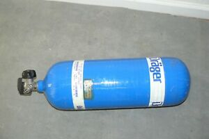 Drager Draeger Cylinder Scba Tank 4500 Psi Dot sp11194 Psi Hydro Tested 45min