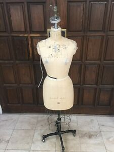 Professional Female Half Body Dress Form With Collapsible Shoulder Size 10