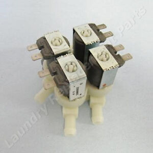 Elbi Water Valve For Continental Girbau Washer 4 Way 220v Part 129411
