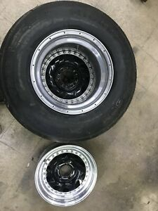 Drag Wheels 4 Centerline 15x4 15x14