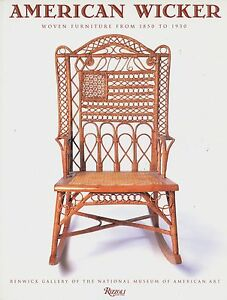 American Wicker Furniture 1850 1930 Types Makers Dates Illustrated Book