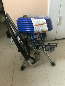Graco Ultra 395 Pc Electric Airless Paint Sprayer Stand 17c314 Old 233960