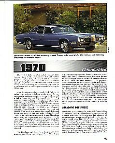 1970 Ford Thunderbird Article Vin Decode Must See