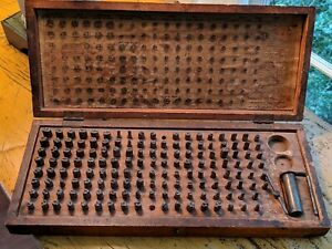 Antique Dentistry Tooth Form Die Set Central Tool S S White Dental Mfg 1910