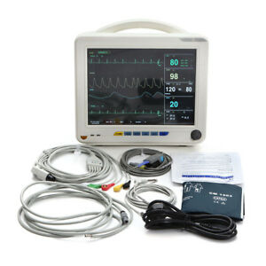 us Medical Ccu 6 parameter Patient Monitor Vital Sign Ecg Nibp Spo2 Temp Resp