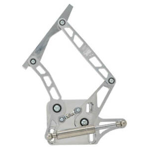 Ford Mustang 6 Axis Billet Aluminum Hood Hinges Polished