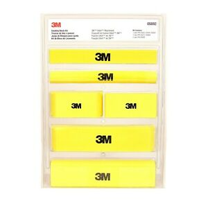 3m 05692 Stikit Auto Body Sanding Block Kit 6 Blocks