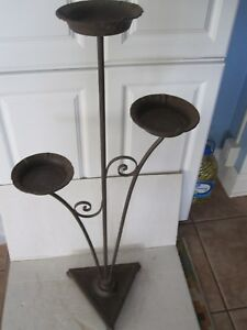 Antique Iron Plant Stand 1920s