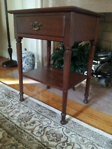 Stickley Cherry Side Table