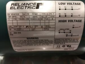 Reliance Electric 1 Hp Motor Hm421032