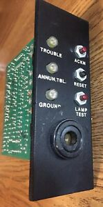 Federal Signal 5130 044 01 Main Control Card With Piezo Sounder Thorn Autocall
