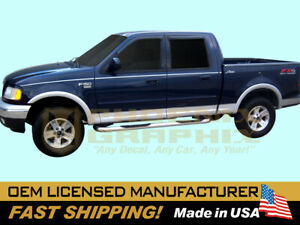 2001 2002 2003 Ford F 150 Lariat Truck Upper Lower Graphics Stripes Decals Kit