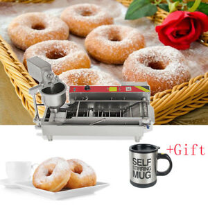 Automatic Commercial Donut Fryer Maker Making Machine Donut Robot Device gift Us