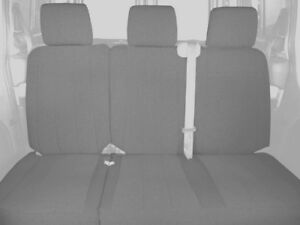 Caltrend Rear 60 40 Split Bench Custom Fit Seat Cover For Select Toyota Sequoia