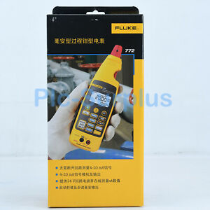 1pc Brand New Digital Fluke 772 Milliamp Process Clamp Meter Tester