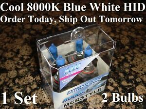 Chevrolet Camaro 9006 Hid Headlight 2001 2000 1999 1998 8000k Blue Xenon Bulbs