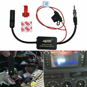 Car Fm Am Radio Signal Antenna Aerial Signal Amp Amplifier Booster