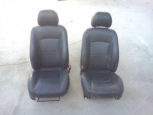 Oem 2006 Chrysler Sebring Ventilated Black Leather Seats 01 02 03 04 05 Hot Rod