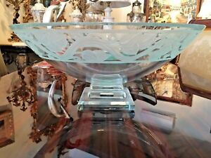 Schlancer Hand Made Signed Glass Bowl