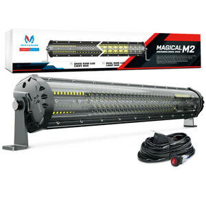 Mictuning M2 21inch 180w Quad Row Led Light Bar Offroad Driving Lamp 12680lm Car
