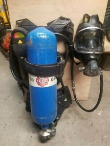 Drager Airboss Pss100 Series Scba With Panorama Nova Mask And 4500 Psi Tank