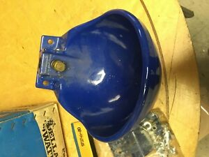 New In Box De Laval Della matic Water Bowl Cow Cattle Blue Waterer W extra Valve