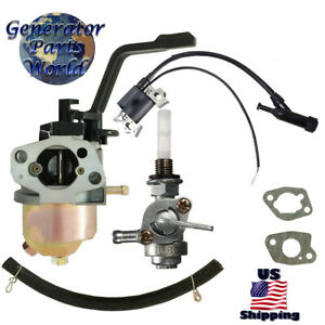Ariens Carburetor Left Petcock Ignition Coil For 986005 2800 Pressure Washer