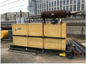317 Hours 125kw 3116b Caterpillar Diesel Generator Gen Set Freight Ship Avail