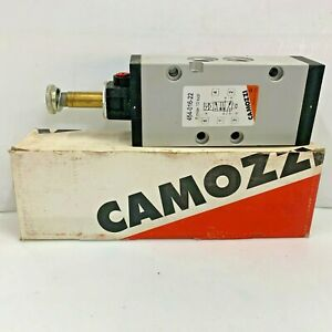 Camozzi 454 016 22 5 2 way G1 4 Pneumatic Directional Solenoid Valve W o Coil