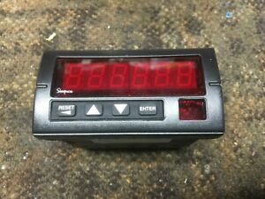 Simpson S66011000 S660 Totalizer Counter 120vac