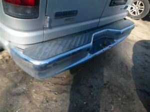 Rear Bumper With Step Bumper Chrome Fits 07 14 Ford E150 Van 438152