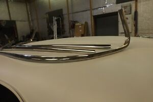 1960 1963 Chevy Gmc Truck Windshield Chrome Moldings Trim Stainless