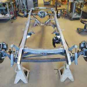 1928 31 Model A Ford Complete Chassis Frame Made In Usa