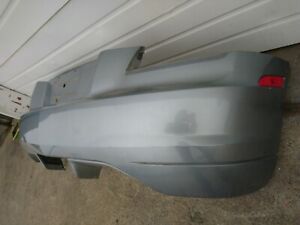 2004 2008 Chrysler Crossfire Coupe Rear Bumper Cover Silver Blue