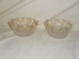Antique Pomona Finger Bowl Set Of 2