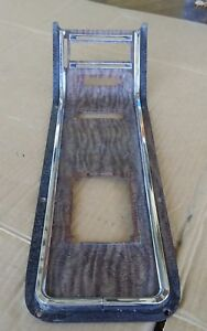 1966 Ford Thunderbird A m 8 Track Center Console Panel