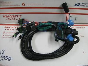 Western Fisher Plow 3 Port Light Wiring Harness 28930 Hb 1 Hb 5 Headlights