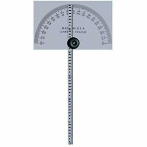 968 203 Protractor Square Head W 6 Rule Industrial Scientific