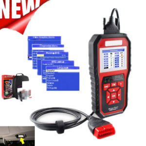 2019 New Odb Obd2 Auto Car Diagnostic Tool Scanner Kw850 Automotive Code Reader