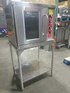 Blodgett Ctb 1 Half Size Electric Convection Oven 240v Single With Stand