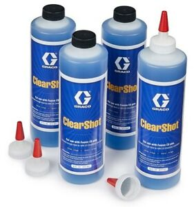 Graco Fusion Cs Clearshot Liquid Bottles 12 Pack Of 16oz Part 17x757