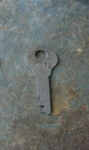 Original Antique Steamer Trunk Key Corbin T133 T 133 Flat Key T 133