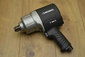 Husky H4490 3 4 Air Impact Wrench Twin Hammer New Unused Excellent Condition