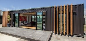 Modern Shipping Container Home 640sqft Smart Home Luxury