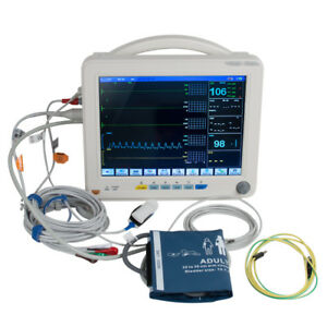 Medical Vital Signs Patient Monitor 6 parameters Hospital Icu Ccu Monitor Fda us
